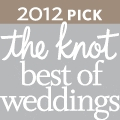 2012 Pick for the Best of Weddings on the knot